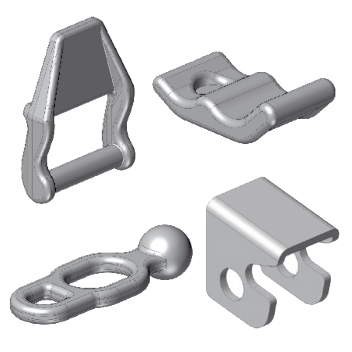 Double Acting Hinges